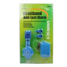 JB-L03 Wristband Anti-Lost Alarm Blue(1*AAA battery, not included)