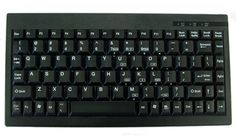 Black Mini Thin Keyboard