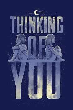Thinking of you Typography design inspiration