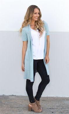 Short Sleeve Pocket Cardigan | 8 Colors