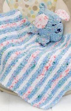 Free+Knitting+Pattern+-+Baby+Knits:+Baby+Blankie+&+Puppy+Pal