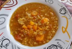 Zöldséges vöröslencseleves   NOSALTY Hungarian Recipes, Chana Masala, Food And Drink, Soup, Ethnic Recipes, Soups