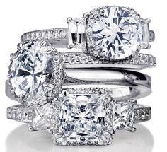 Tacori diamond engagement rings- www.solomonbrothers.com