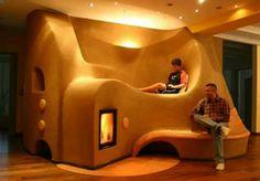Heated mass seating