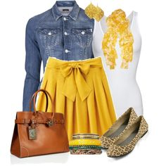 """""""Let's Do Yellow Contest #2"""" by lifebeautiful on Polyvore"""