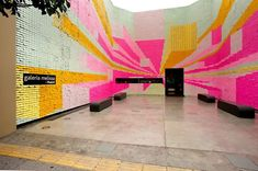 350,000 Post-it Notes to Express the Power of Love :]