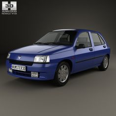 Buy Renault Clio hatchback 1990 by on The model was created on real car base. It's created accurately, in real units of measurement, qualitatively and m. Car 3d Model, Web Design Tutorials, Cinema 4d, 3d Design, Doors, 3ds Max, Hatchbacks, Models, History