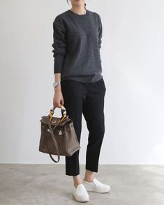 Casual Winter Outfits Ideas With Black Pants To Copy ASAP You are in the right place about Fashi Casual Winter Outfits, Chic Outfits, Fall Outfits, Fashion Outfits, Office Outfits, Trendy Outfits, Look Fashion, Trendy Fashion, Womens Fashion