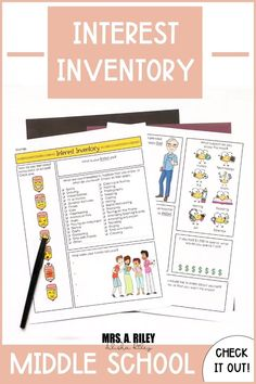Interest Inventory for Teenagers