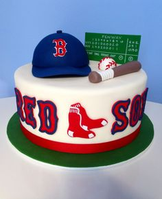 Boston Red Sox Cake Great For Birthday Party A Groom Jpg 236x290 Happy