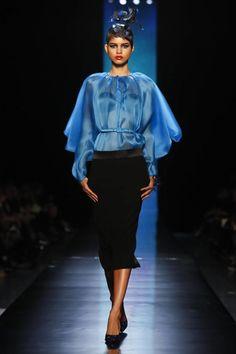 Jean Paul Gaultier Haute Couture Spring Summer 2014 Paris - NOWFASHION