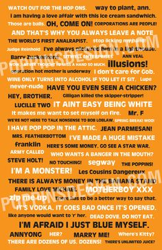 Arrested Development Quote Poster