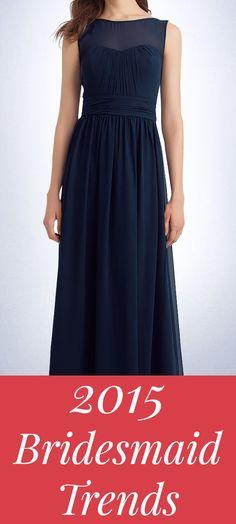 2015 Bridesmaid Dress Trends