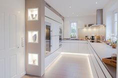 Светодиодная подсветка цоколя кухни