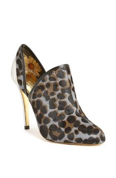 Ted Baker London 'Alenk' Metal Cutout Almond Toe Bootie