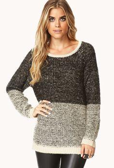 Everyday Contrast Sweater