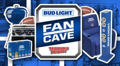 """Enter to win $1,000 worth of Bud Light merchandise and products defined as a """"Man Cave"""". Approximate Retail Value (""""ARV""""): $1,000.00."""