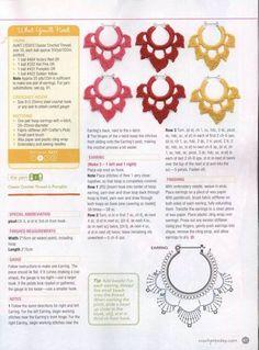 Lotus Earrings ⋆ Crochet Kingdom