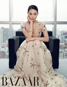 Shin Min Ah - Harper's Bazaar Magazine February Issue '15