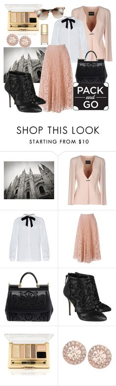 """""""Milano"""" by bellezza95 ❤ liked on Polyvore featuring Giorgio Armani, Valentino, Dolce&Gabbana, Givenchy, women's clothing, women, female, woman, misses and juniors"""