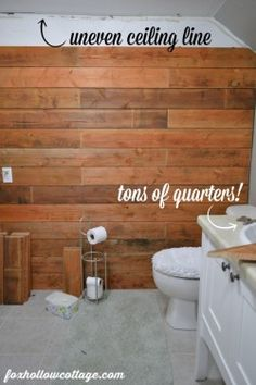 Rustic Wood Fence Board Plank Wall - During