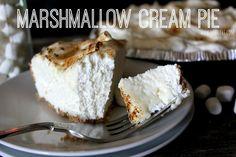 ~Toasted Marshmallow Cream Pie! | Oh Bite It
