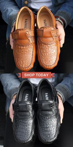 33813515579  49%OFF Mens Large Size Hand Stitching Soft Sole Casual Driving Shoes