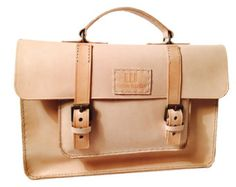 Woman Leather Briefcase Woman Handbag Woman by 74streetbags