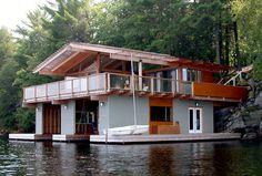 15 of the Most Amazing Boat Houses and a Bonus SocialPlank.com