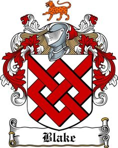 blake coat of arms / family crest copyright www.4crests.com