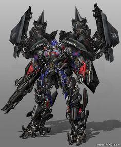 Optimus Prime carga en su espalda el Jedpack TF #3