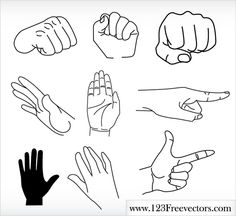 Hands Free Vector Graphics