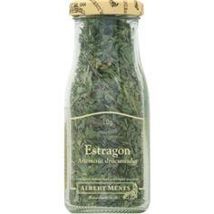 Estragon, artemisia dracunculus. Best dried tarragon I have tried. Reconstitutes during cooking.