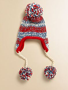Portolano Kids  Kid's Caos Striped Hat