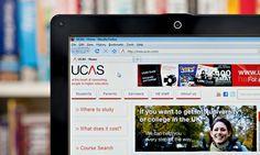The UCAS website