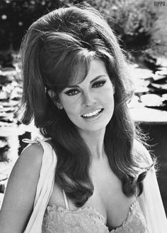 raquel welch's hair in the 60's