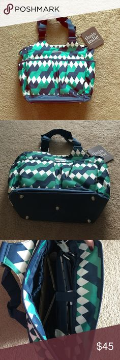 Timi & Leslie Diaper Bag NWT. Received 2 at my shower. Comes with longer shoulder strap & changing pad. Timi & Leslie Bags Baby Bags
