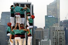 Castellers a NYC - Timothy A.Clary