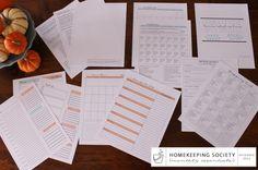 November 2014 Homekeeping Society via Clean Mama