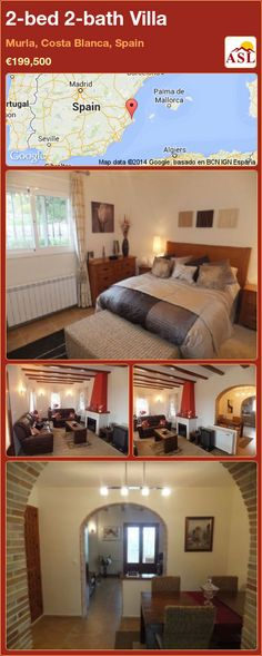 2-bed 2-bath Villa in Murla, Costa Blanca, Spain ►€199,500 #PropertyForSaleInSpain