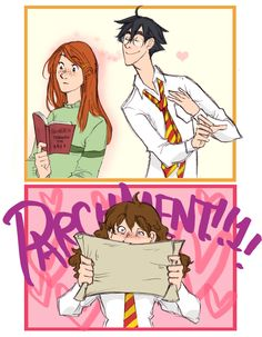 favorite+smell...+by+flominowa.deviantart.com+on+@deviantART. Oh Hermione, yes, me too...