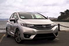 The Honda Fit makes gray days by the water feel brighter.