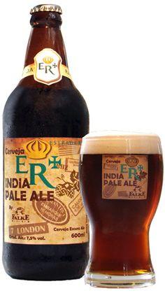 Estrada Real (Tipo India Pale Ale). Cervejaria Falke Bier (Belo Horizonte-MG). #brazil #beer