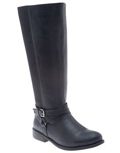 Wide Calf Stretch Riding Boot by Lane Bryant | Lane Bryant