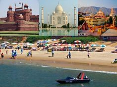 ARV Holidays offers 700 off on 07 Nights / 08 Days Golden Triangle with Goa Tour. Call us on 8527006665/ 9015558844.