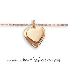 Love Love Love - Rose Gold Love! https://www.uberkate.com.au/products.php?category=Necklaces&subcategory=Uberfine