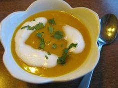AH-MAY-ZING-LEEE YUMMMYY!!! Asian Inspired Butternut Squash Soup