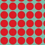 polka dots fabric by heidikenney for sale on Spoonflower - custom fabric