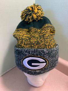 47 Brand Winter Cuffed Pom Knit Hat Baraka NFL Green Bay Packers  a01b8736003e