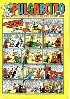 014-Portada-Pulgarcito nº 1405- año 1958 Old Comics, Vintage Comics, Nostalgia, Calvin And Hobbes, Sweet Memories, Retro, Cartoon, Manga, Humor